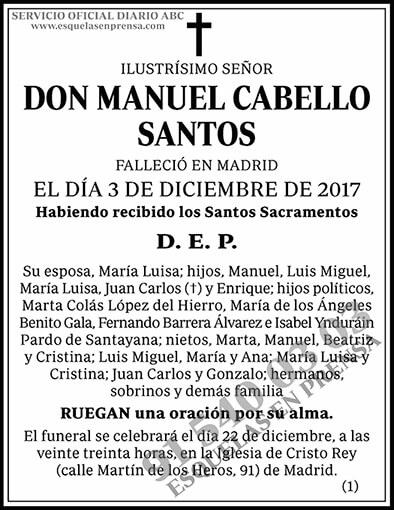 Manuel Cabello Santos